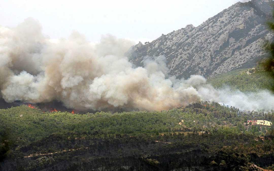 Incendio Horta