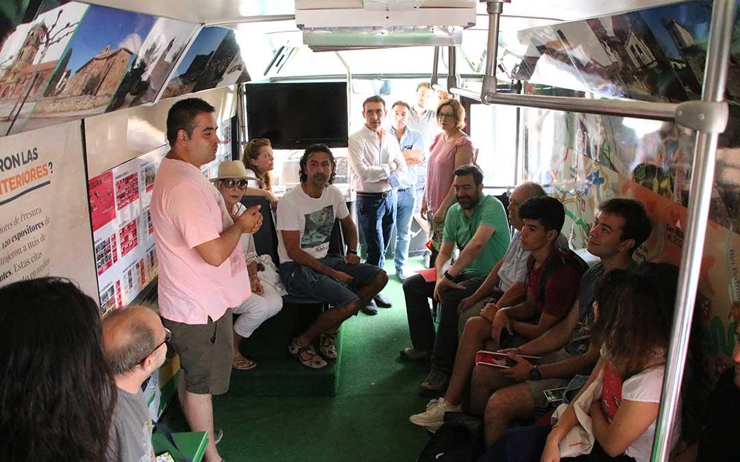 interior bus presura el hueco repoblacion oliete
