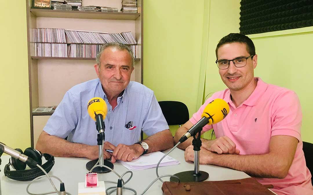 Joaquin Llop y Cristian Poblador.
