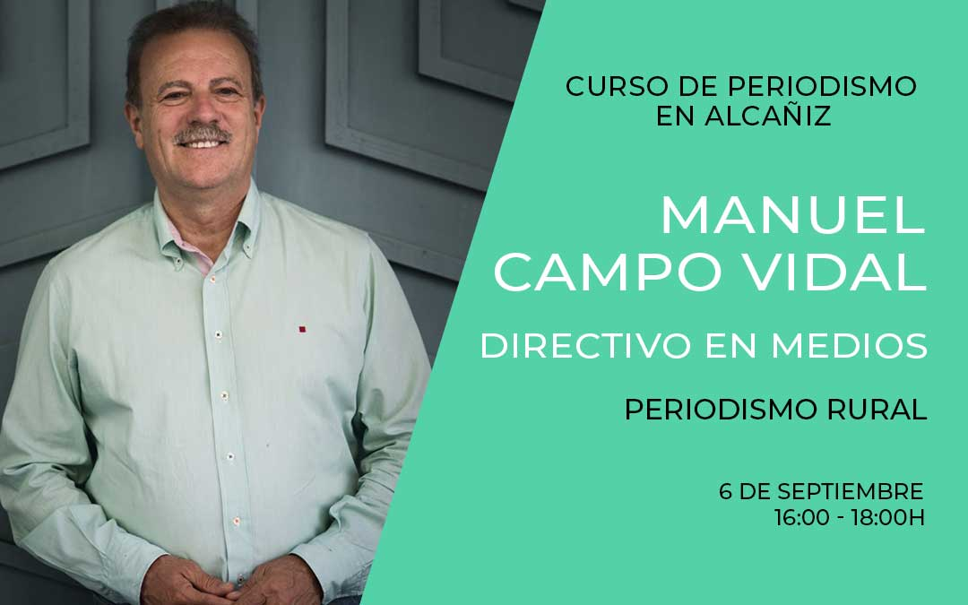 Manuel Campo Vidal directivo medios