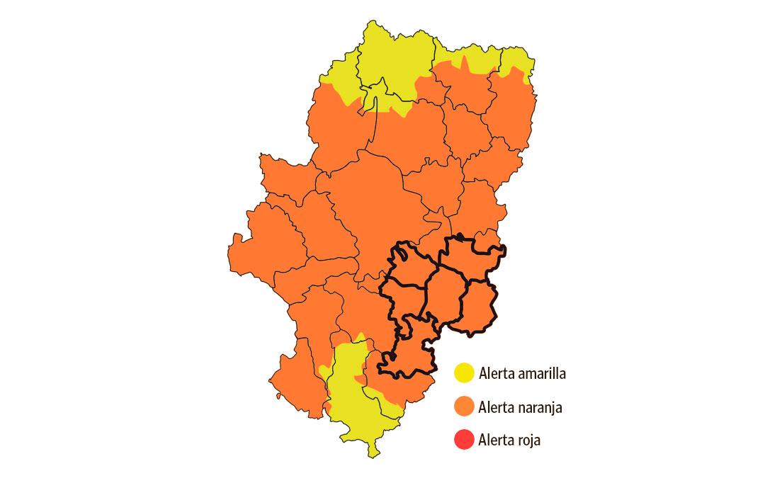 mapa alerta incendios