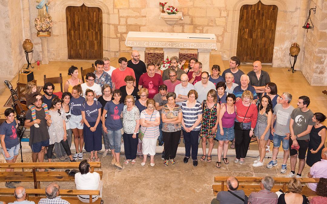 Participantes de la nueva edición en la clausura del domingo / Nebulosa Gráfica