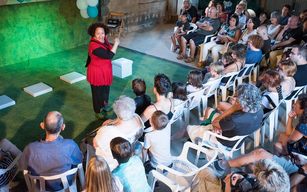 El público quedó encantado y sorprendido con cada actuación / Nebulosa Gráfica