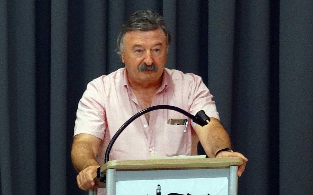 El presidente de Cuencas Mineras, José María Merino