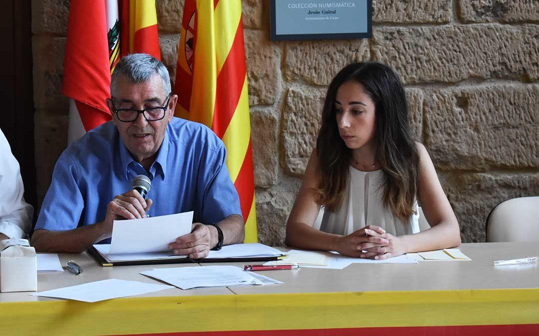 La concejal de Cs Caspe Sofía Gavín renuncia a su cargo