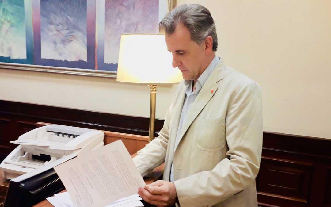 El diputado de Cs por Teruel, Joaquín Moreno, ha registrado una pregunta sobre el FITE en el Congreso
