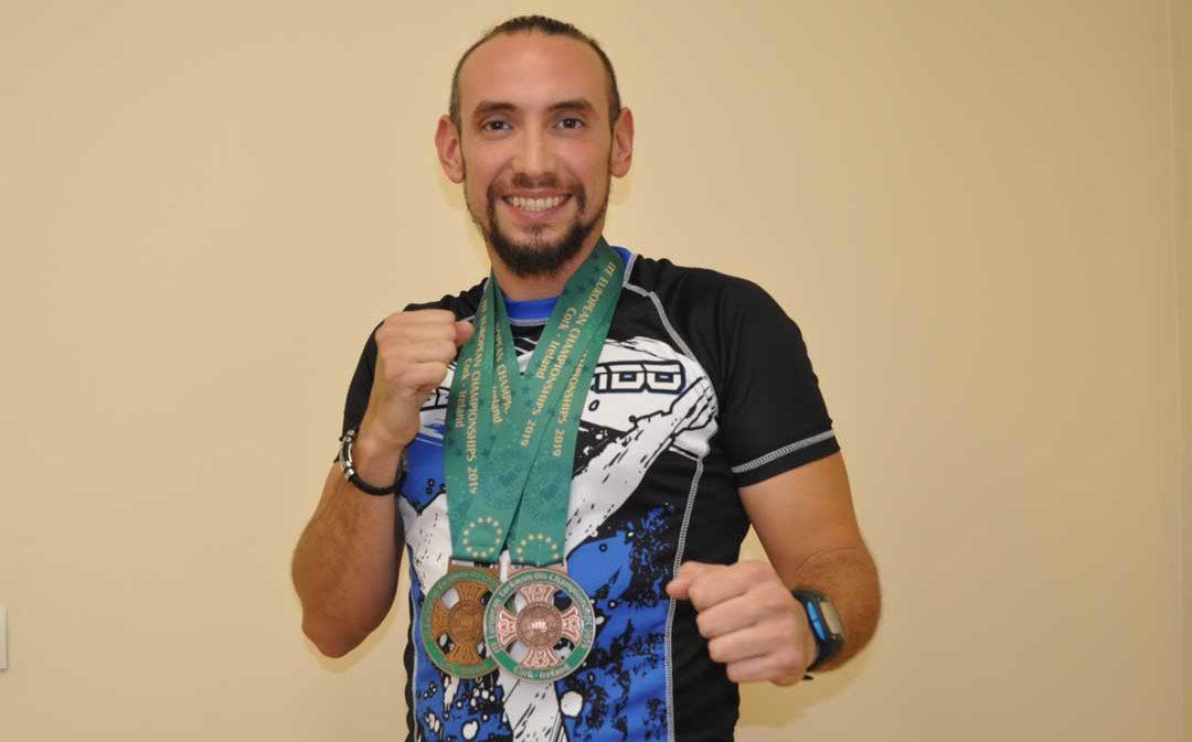 El taekwondista Pablo Salmonte logra dos medallas en el campeonato de Europa