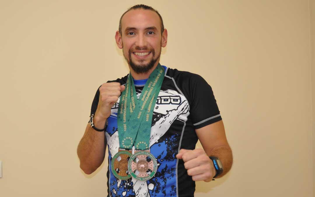 Pablo Salmonte medallas