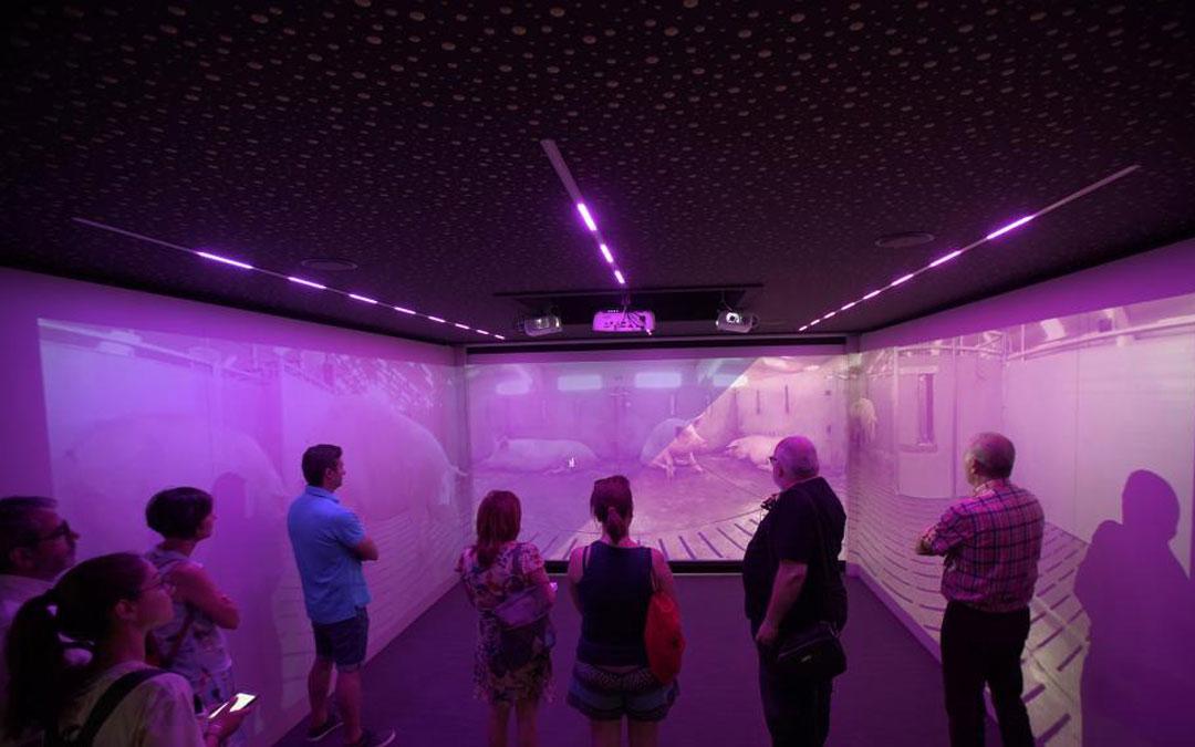 Espacio interactivo Aire Sano Experience. / Antonio García/Bykofoto (Heraldo)