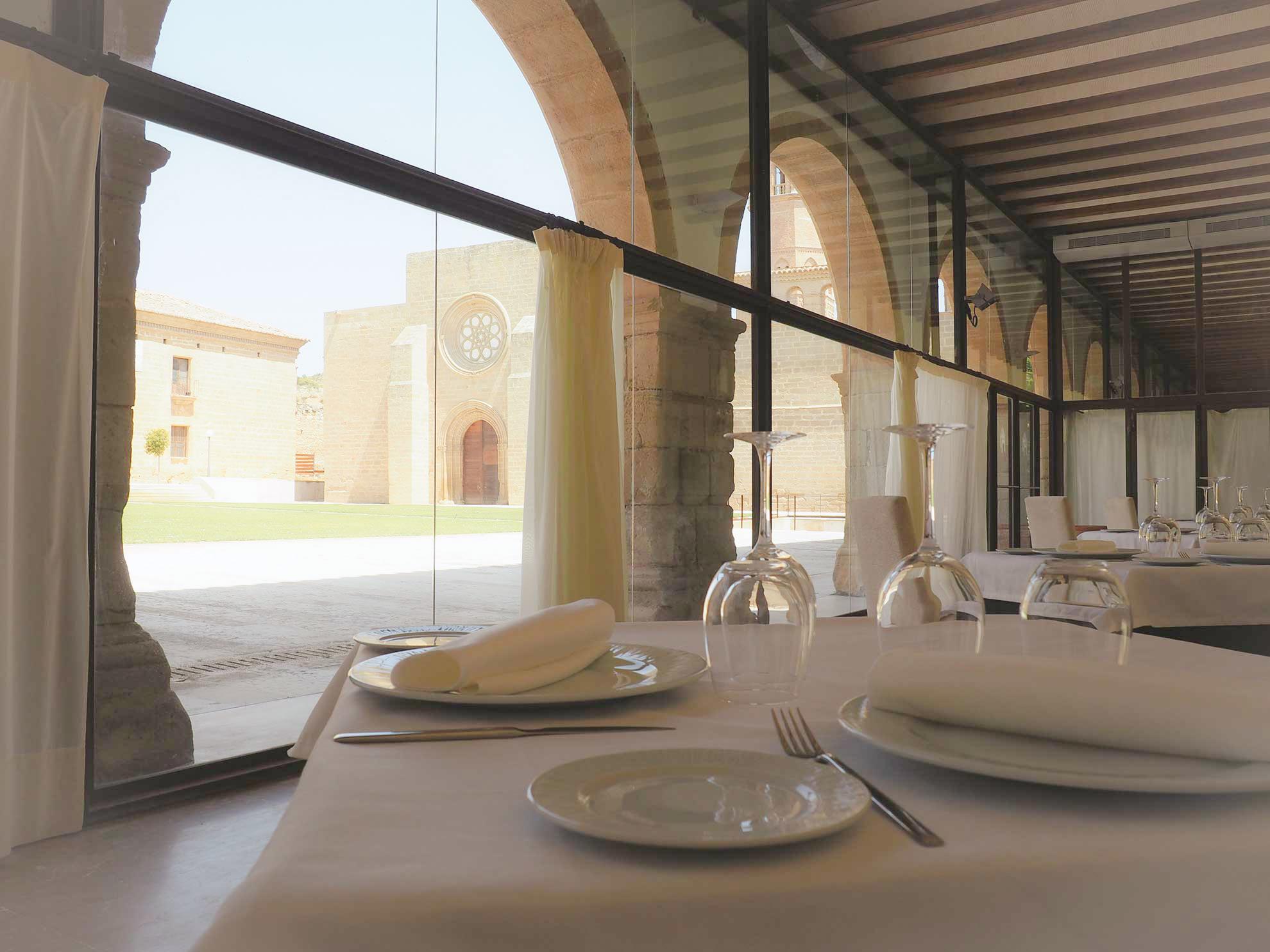 El restaurante del Monasterio de Rueda abre sus puertas
