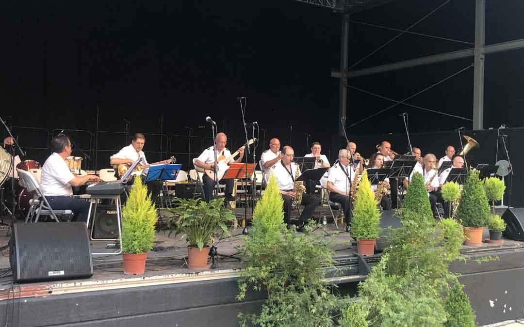 En el concierto actuaron las cuatro secciones de la Unión. Foto: Laura Castel