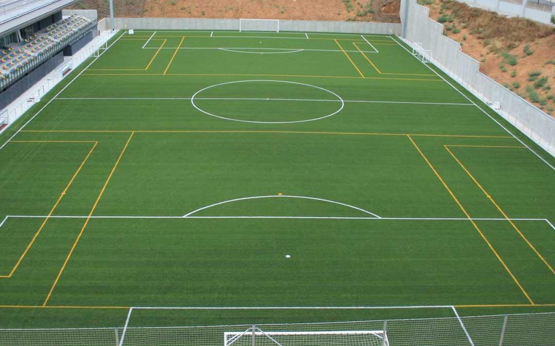 El nuevo complejo deportivo tendrá dos campos de fútbol 7 y uno de fútbol 11