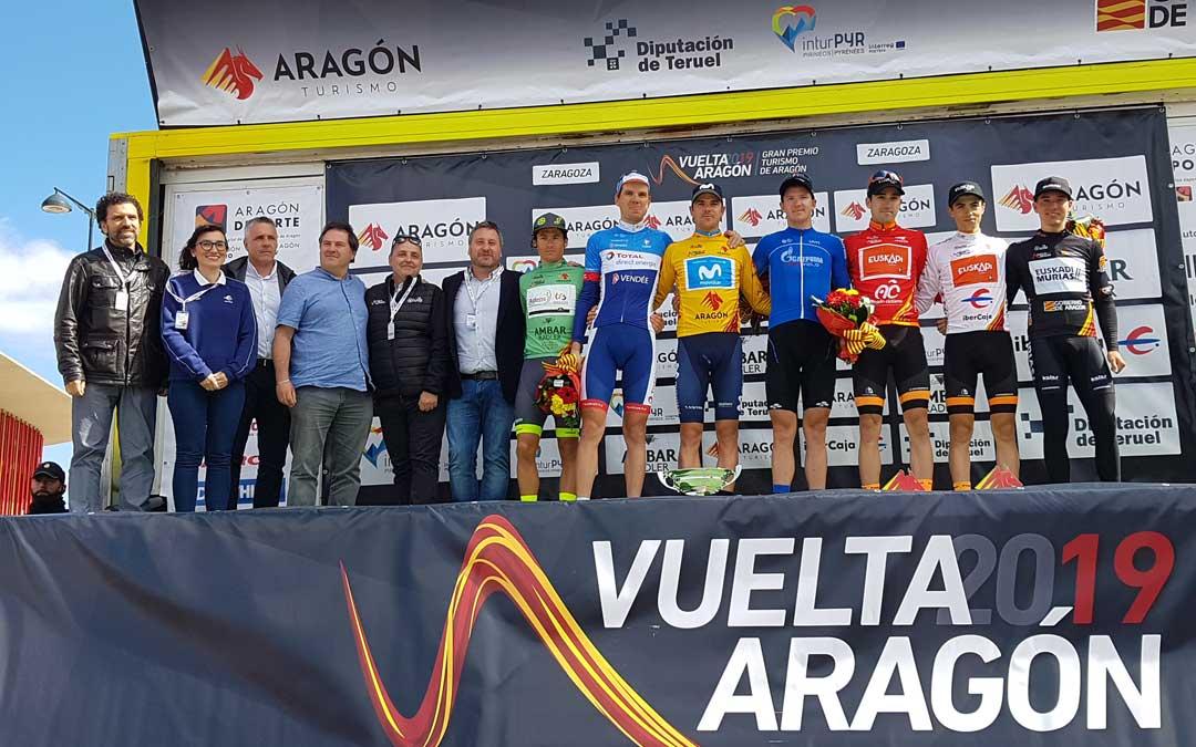Imagen del podido de los ganaderos de la pasada Vuelta Aragón.