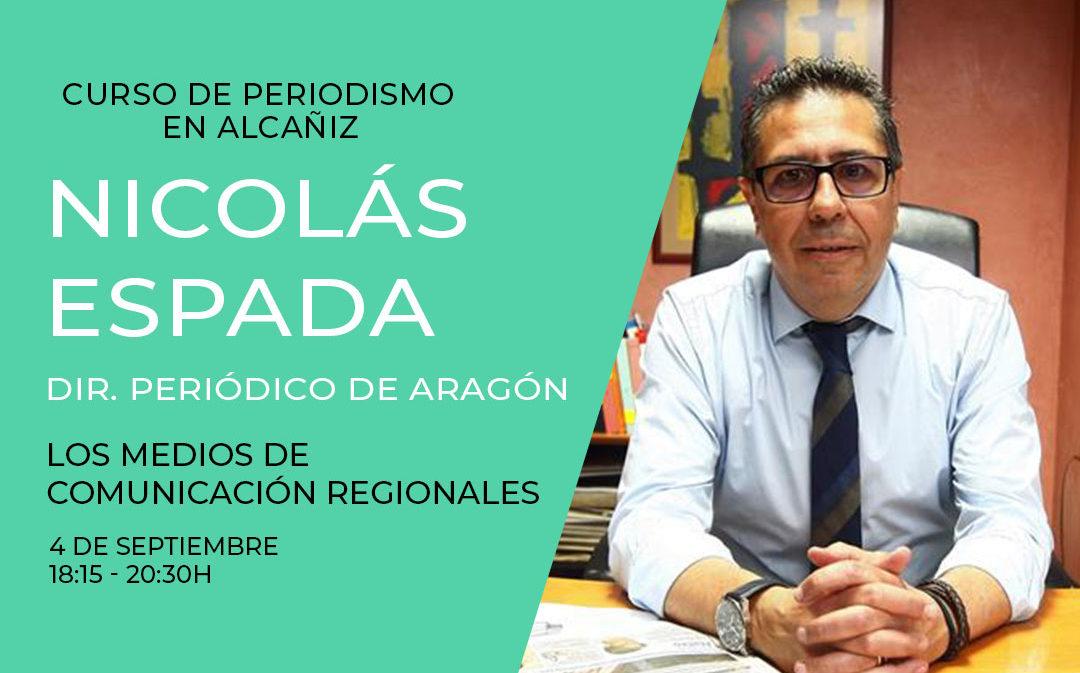 Periodistas de referencia de todo el país debatirán en Alcañiz