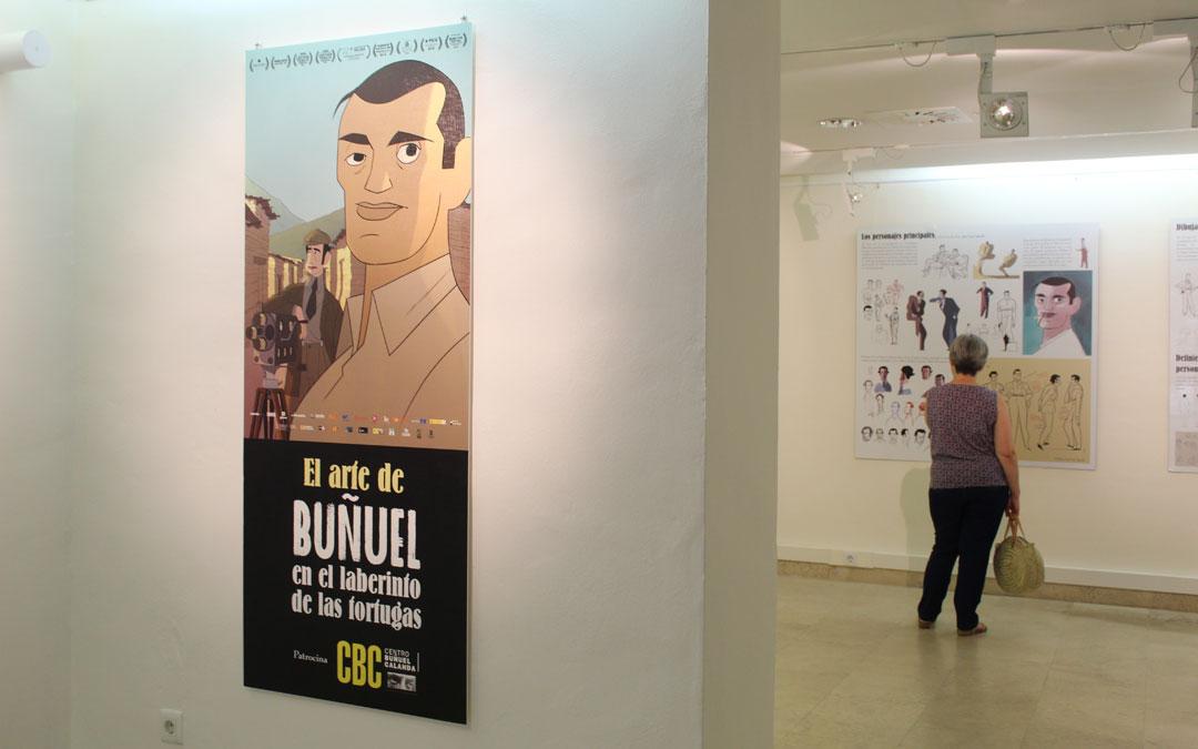 Exposición de 'El Arte de Buñuel en el laberinto de las tortugas' en el CBC. / B. Severino