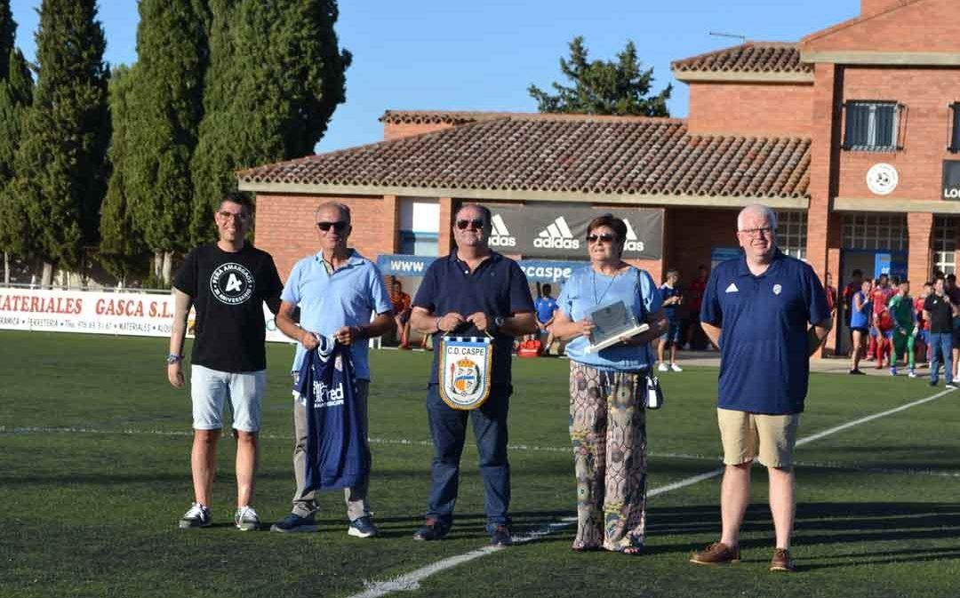 El campo de fútbol de Los Rosales, protagonista deportivo en las fiestas de Caspe