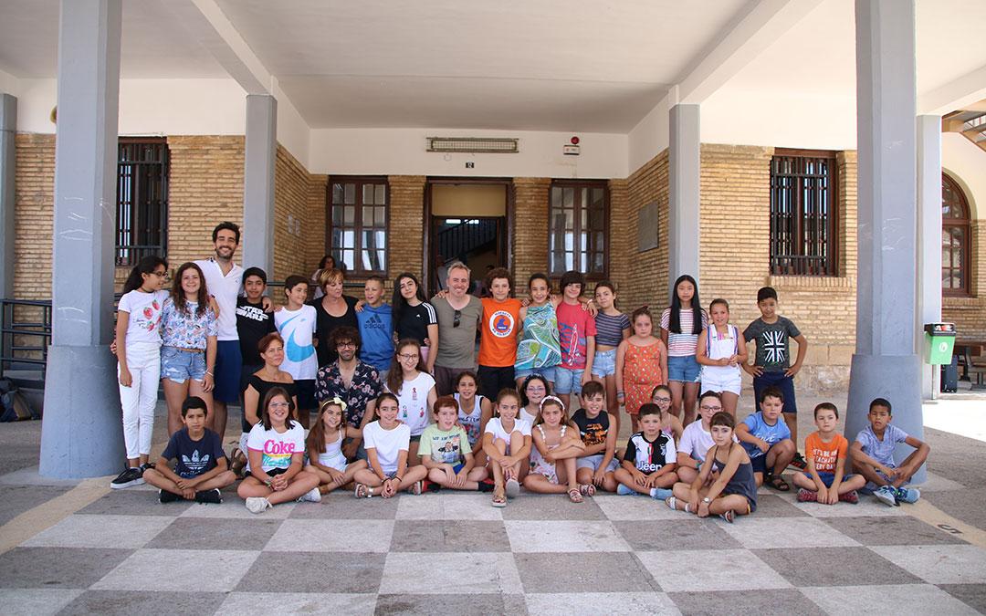 La película 'Uno para todos' se estrena en el cine de Caspe