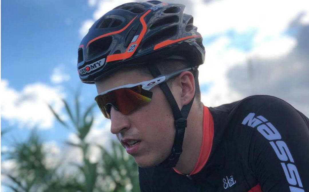 El equipo ciclista Massi Vivo se hace con los servicios del alcañizano Javier Comín