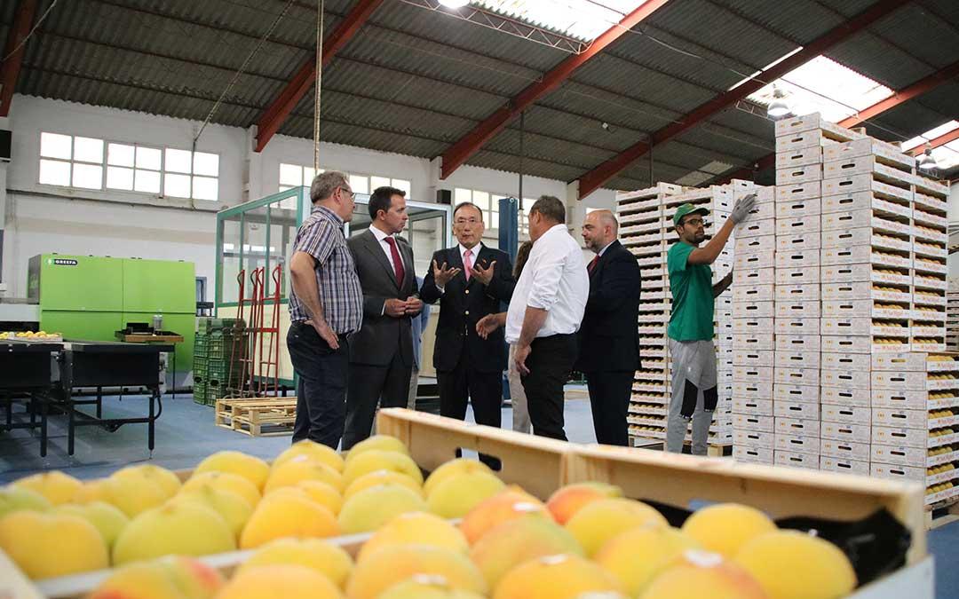 cooperativa san miguel calanda visita embajador taiwan