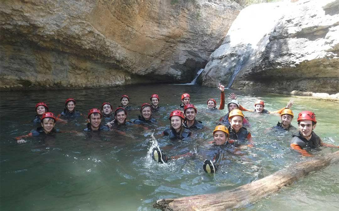 70 jóvenes disfrutan de las actividades de verano de Cuencas Mineras