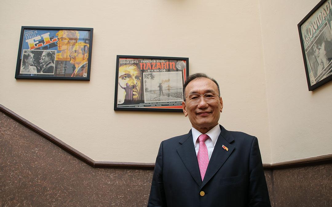 jose maria liu embajador taiwan calanda