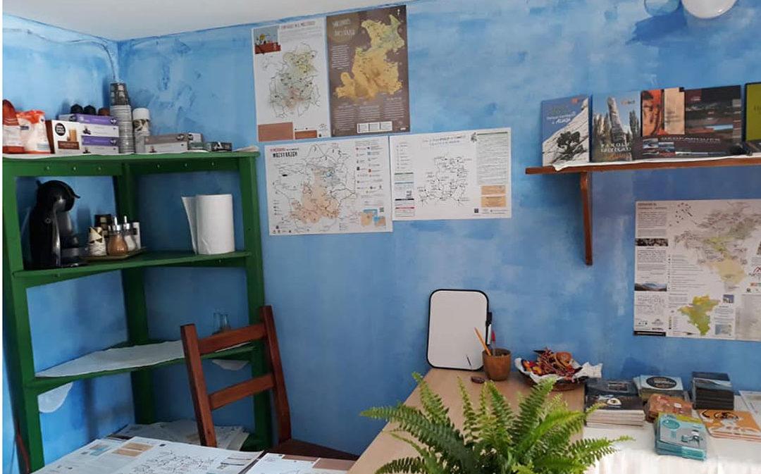 Montoro habilita un punto de información sobre el Parque Cultural del Maestrazgo