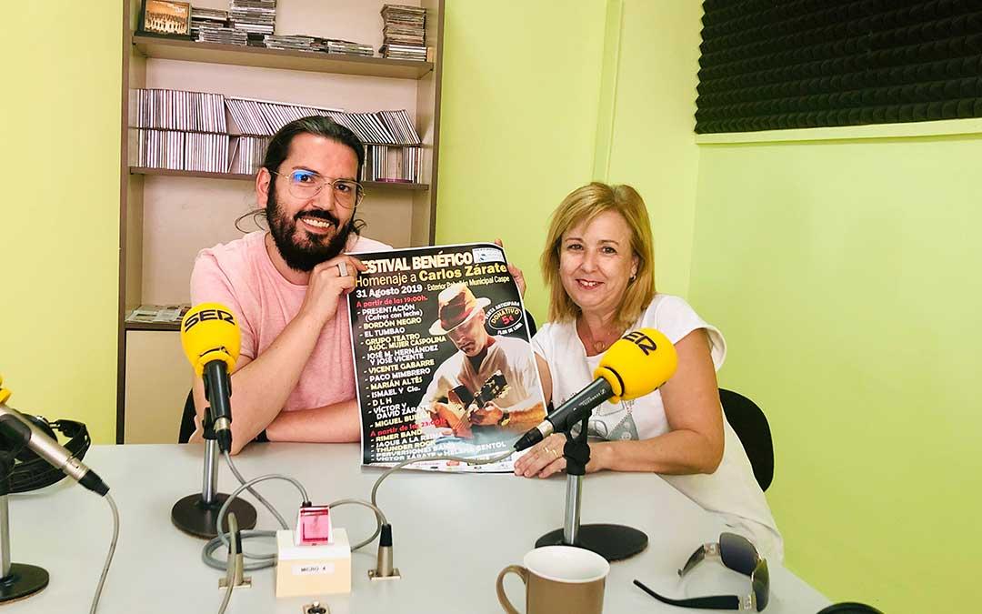 Pedro Palacios y Cristina Clavero.