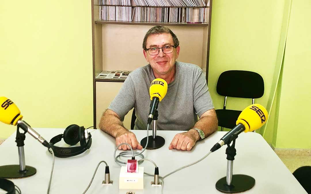 Rafael Lumbreras es concejal de cultura del Ayto de Caspe.