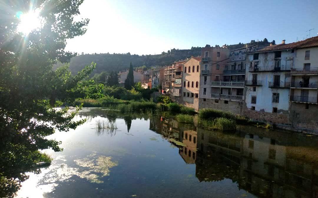 Recogen más de 4.500 firmas para exigir la limpieza del cauce del río Matarraña