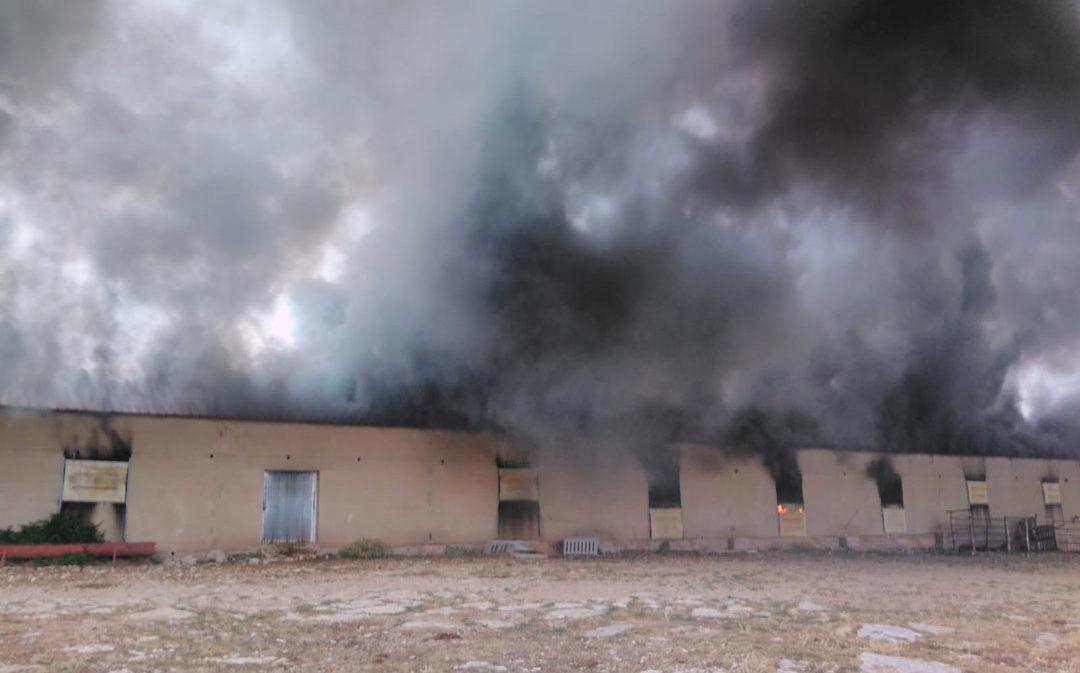 El Maestrazgo reivindica el  parque de bomberos para Cantavieja
