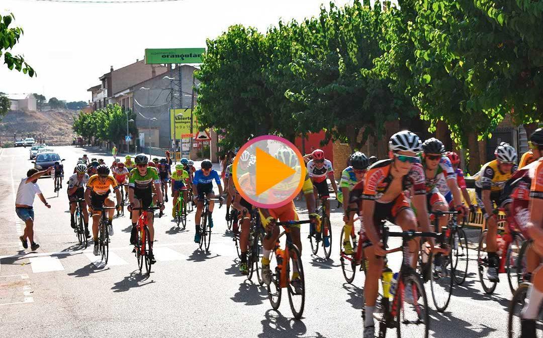 Marc Terrassa y Malaika Feys, vencedores de la XXXVI Vuelta Ciclista al Bajo Aragón