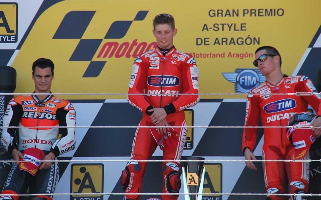 10 años de emoción con Moto GP en Motorland Aragón