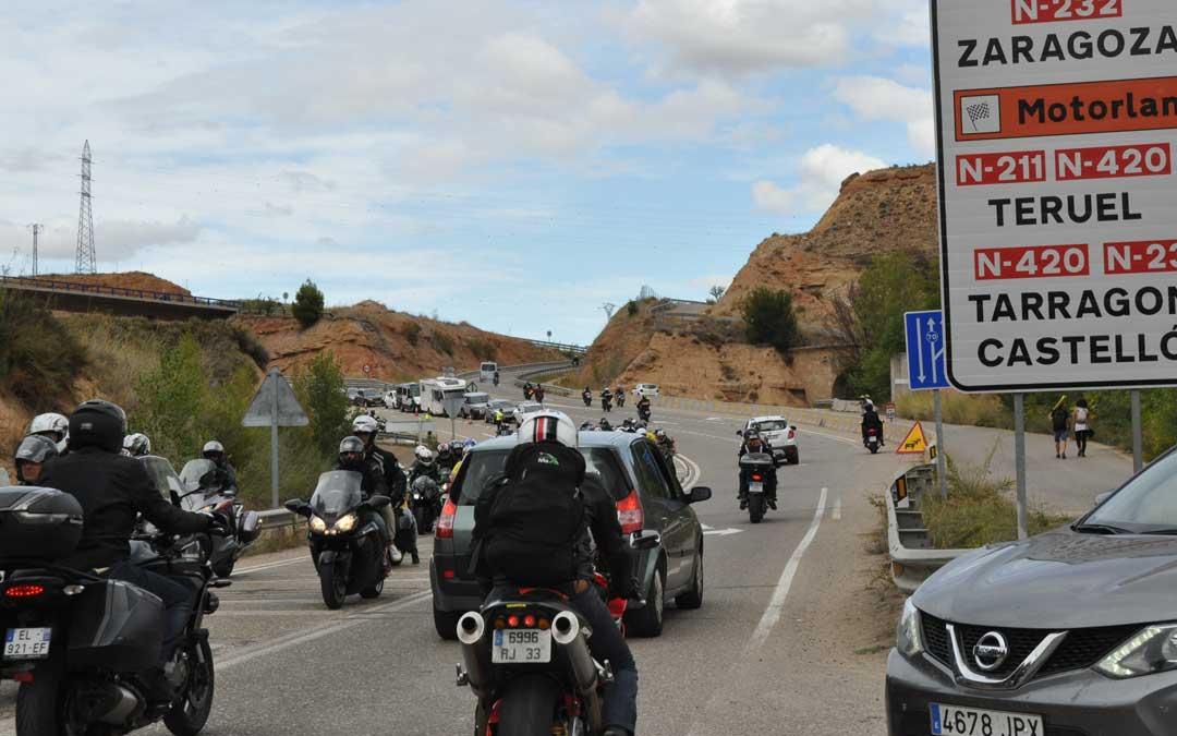 El gran dispositivo policial ha garantizado la fluidez en las entradas y salidas al circuito y a la ciudad