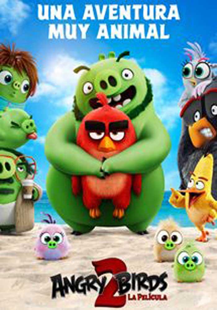 "Cartelera Caspe ""Angry Birds 2"""