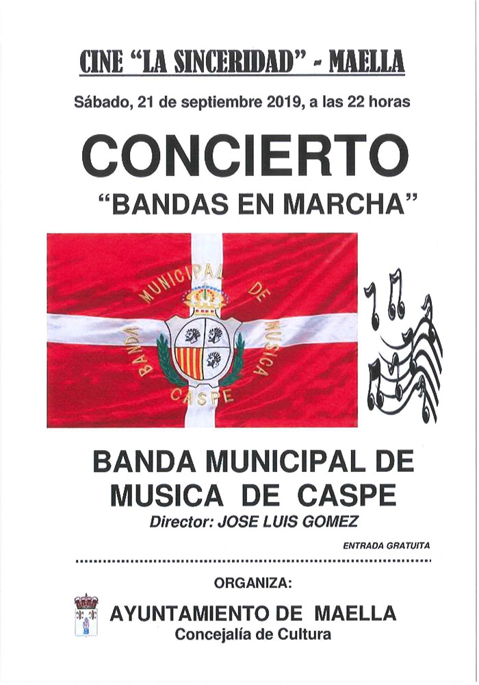"""Concierto """"Bandas en Marcha"""""""