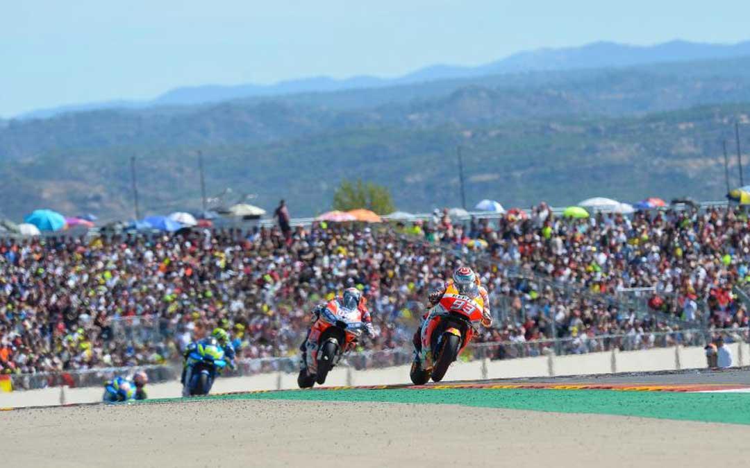 El Gran Premio de Aragón del Mundial de MotoGP se celebrará en Motorland los días 21 y 22 de septiembre