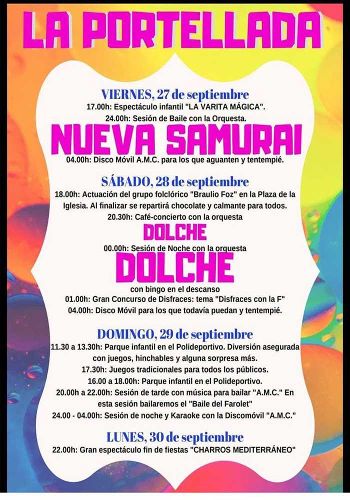 Fiestas en La Portellada 2019