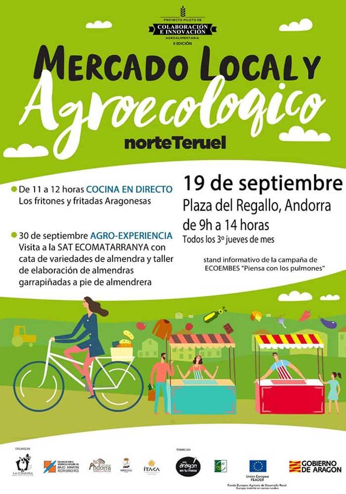 Mercado local y agroecológico norte Teruel