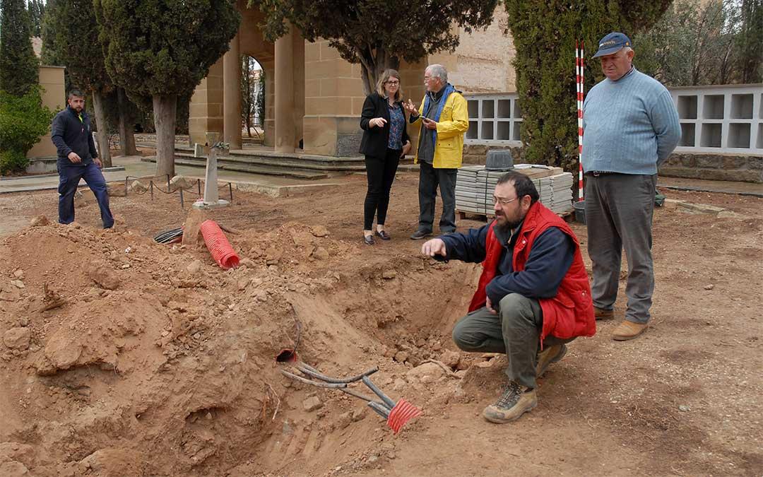 Buscan a cuatro fusilados por el franquismo en una fosa común de Alcañiz