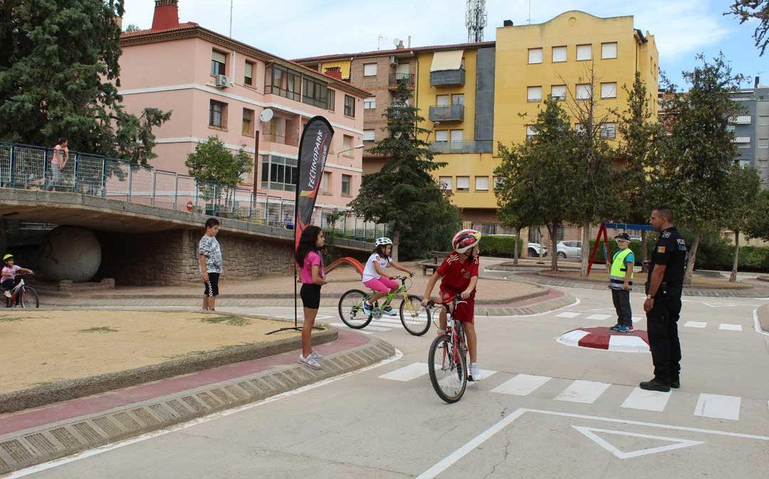 220 escolares aprenden seguridad vial con Technopark