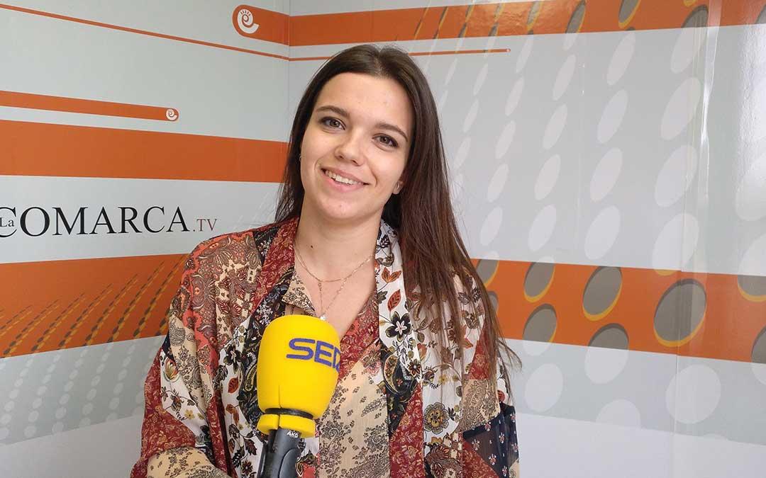Alicia Martín en 'Hoy es tu día'.