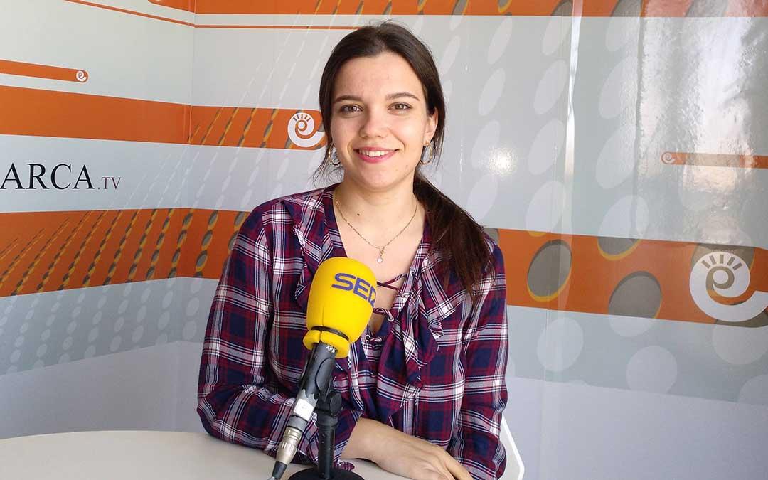 Alicia Martín, en 'Hoy es tu día' de Radio La Comarca.