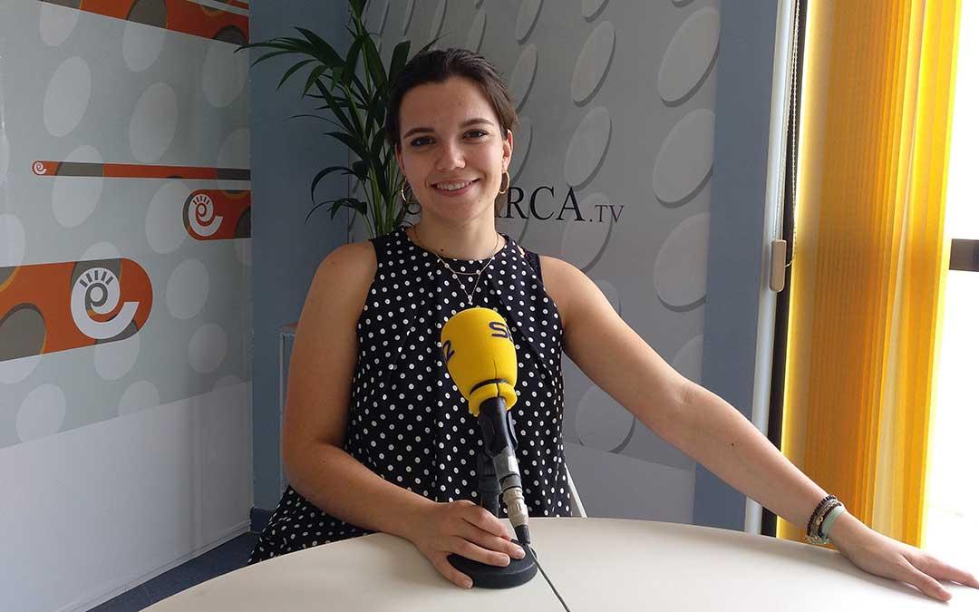 Alicia Martín, Radio La Comarca.