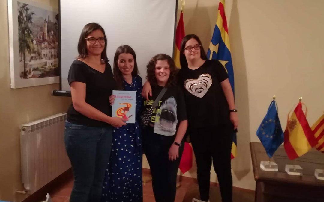 María Villarroya, Rocío Domene, Nuria Guillén y Natalia Suárez./ Rocío Domene