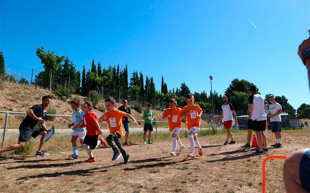 Atletismo en Nonaspe.