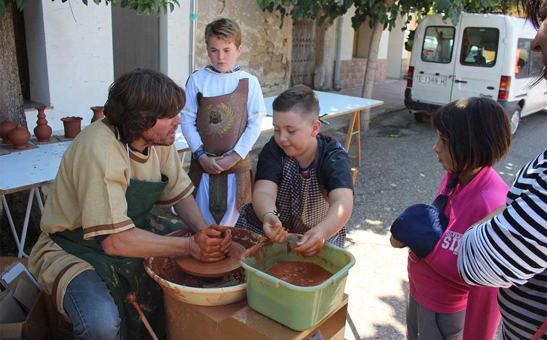 Quince años viajando a la época íbera desde Azaila con Sedeisken