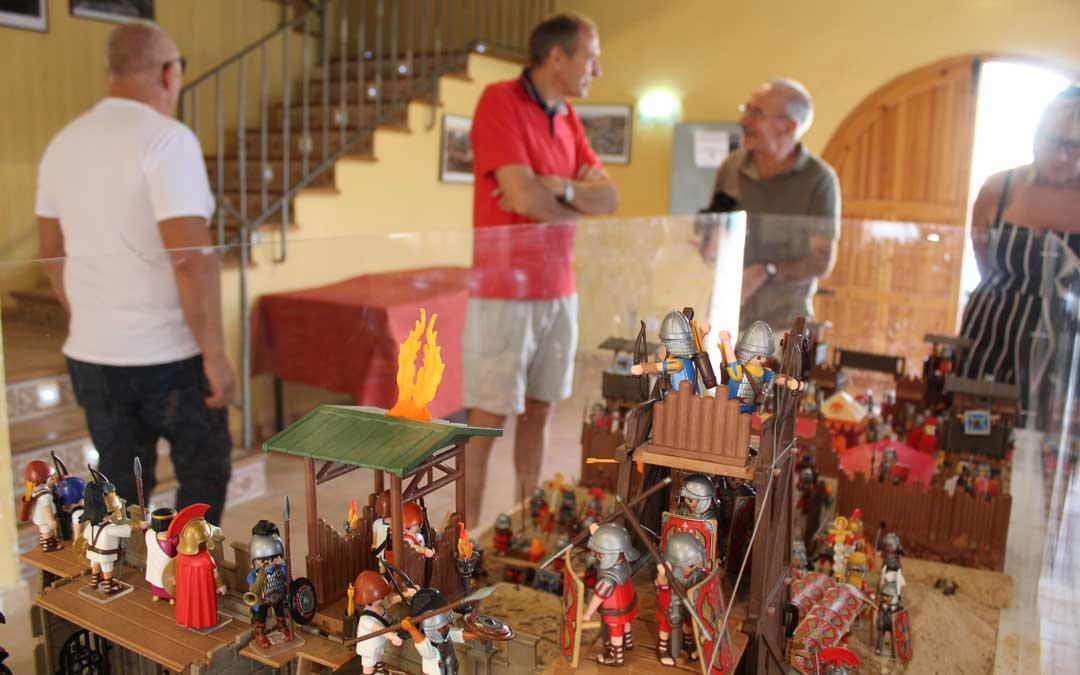 Diorama de Playmóbil alegórico al Cabezo de Alcalá. / B. Severino