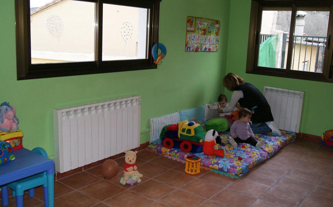 La falta de niños obliga a Berge a cerrar su escuela infantil