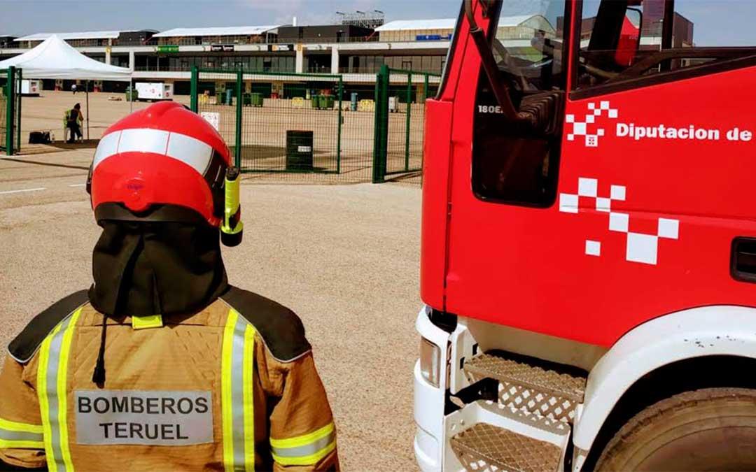 Los bomberos se encargarán tanto de la prevención como de la rápida actuación ante una incidencia en caso de ser necesario./ DPT.