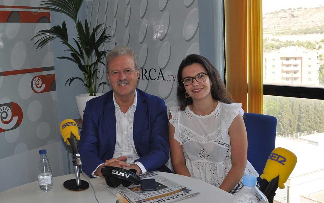 Manuel Campo Vidal junto a Alicia Martín, en 'Hoy es tu día'./ JDL